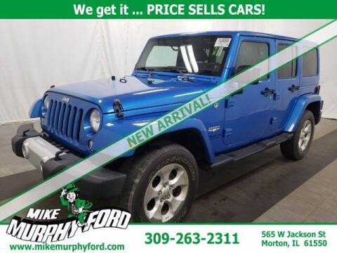 2014 Jeep Wrangler Unlimited for sale at Mike Murphy Ford in Morton IL