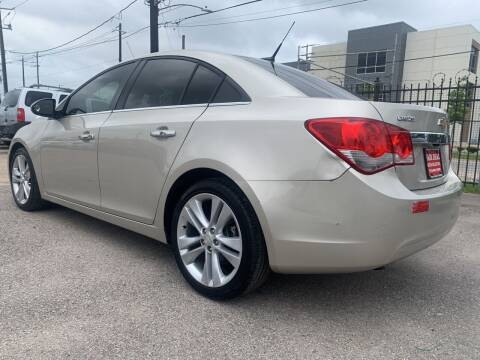 2014 Chevrolet Cruze for sale at FAIR DEAL AUTO SALES INC in Houston TX