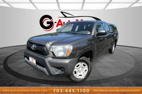 2015 Toyota Tacoma for sale at Guarantee Automaxx in Stafford VA