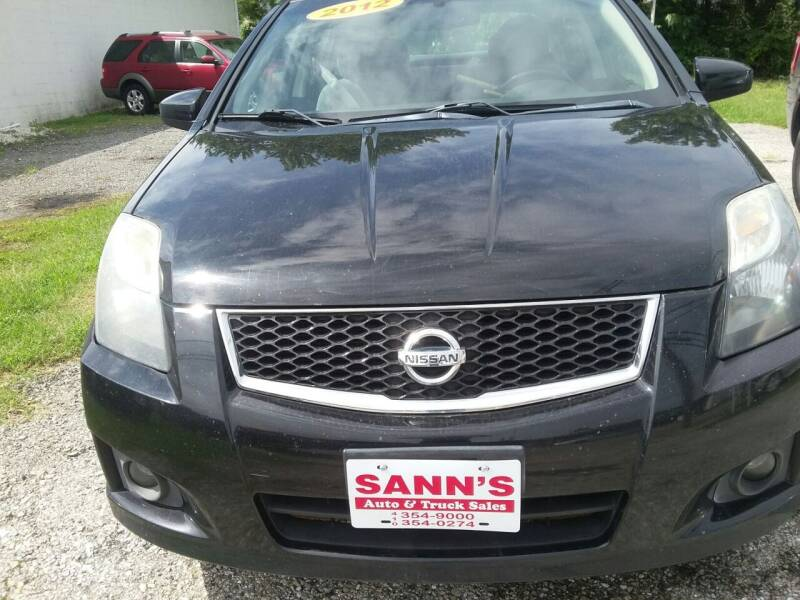 2012 Nissan Sentra for sale at Sann's Auto Sales in Baltimore MD