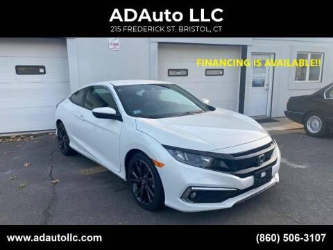 2019 Honda Civic for sale at ADAuto LLC in Bristol CT