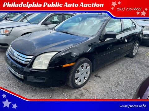 2007 Ford Fusion for sale at Philadelphia Public Auto Auction in Philadelphia PA