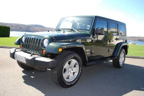 2010 Jeep Wrangler Unlimited for sale at New Milford Motors in New Milford CT