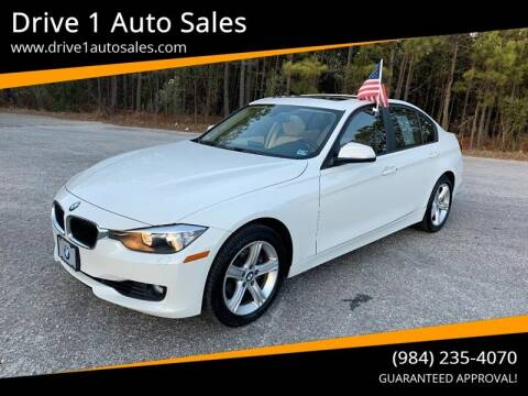 2014 BMW 3 Series for sale at Drive 1 Auto Sales in Wake Forest NC