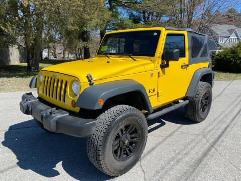 2009 Jeep Wrangler for sale at Boston Auto Cars in Dedham MA