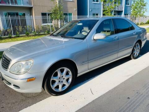 2004 Mercedes-Benz S-Class for sale at LA Motors Miami in Miami FL