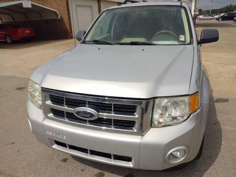 2009 Ford Escape for sale at 4 B CAR CORNER in Anadarko OK