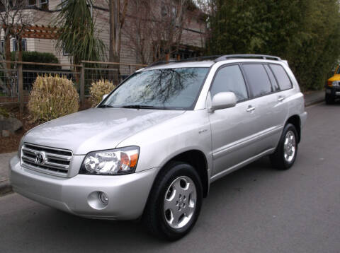 2006 Toyota Highlander for sale at Eastside Motor Company in Kirkland WA