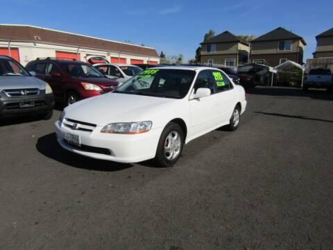 1999 Honda Accord for sale at ARISTA CAR COMPANY LLC in Portland OR