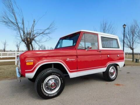 1970 Ford Bronco for sale at Classic Car Deals in Cadillac MI