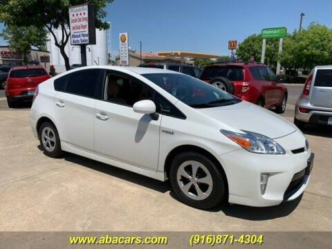 2012 Toyota Prius for sale at About New Auto Sales in Lincoln CA