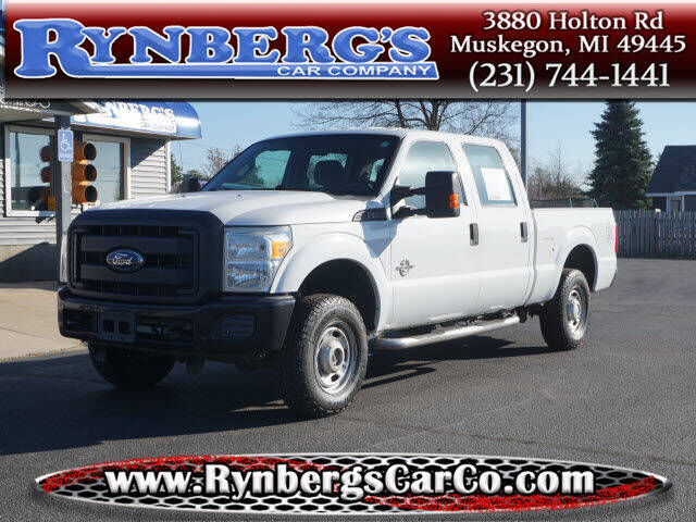 2012 Ford F-250 Super Duty for sale at Rynbergs Car Co in Muskegon MI