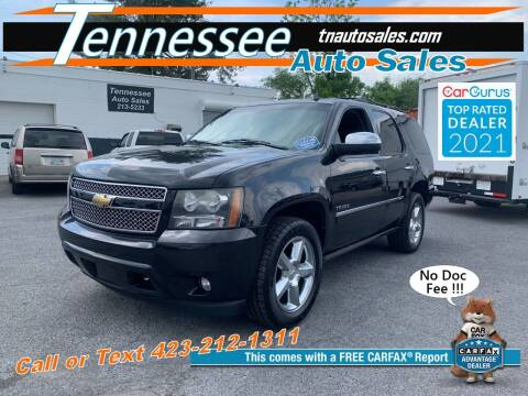 2011 Chevrolet Tahoe for sale at Tennessee Auto Sales in Elizabethton TN