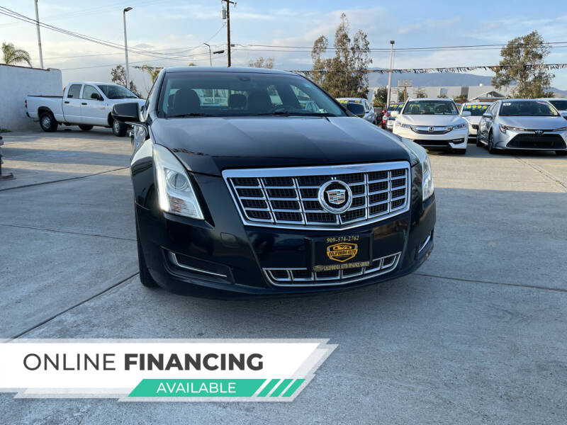 2013 Cadillac XTS for sale at CALIFORNIA AUTO FINANCE GROUP in Fontana CA