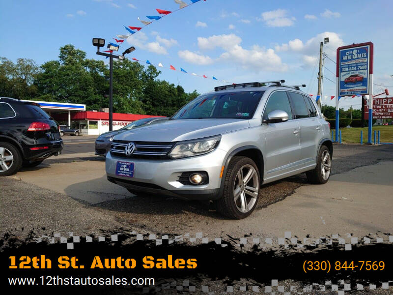 2014 Volkswagen Tiguan for sale at 12th St. Auto Sales in Canton OH