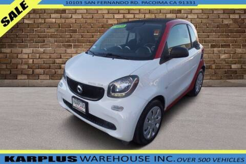 2017 Smart fortwo electric drive for sale at Karplus Warehouse in Pacoima CA