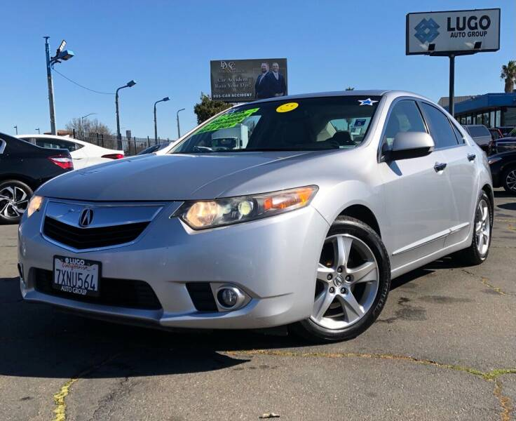 2013 Acura TSX for sale at LUGO AUTO GROUP in Sacramento CA