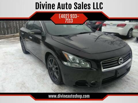 2014 Nissan Maxima for sale at Divine Auto Sales LLC in Omaha NE