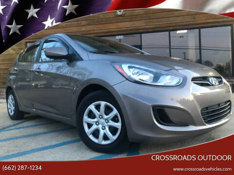 2014 Hyundai Accent for sale at Crossroads Outdoor in Corinth MS