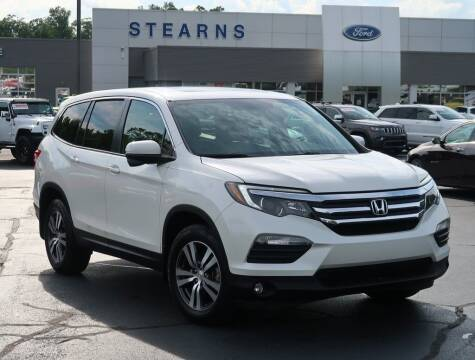 2016 Honda Pilot for sale at Stearns Ford in Burlington NC