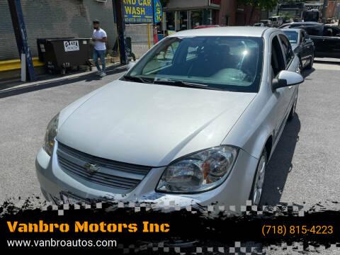 2009 Chevrolet Cobalt for sale at Vanbro Motors Inc in Staten Island NY