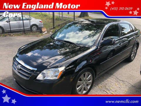 2007 Toyota Avalon for sale at New England Motor Cars in Springfield MA