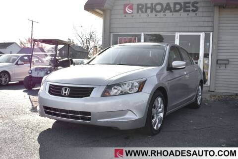 2010 Honda Accord for sale at Rhoades Automotive in Columbia City IN
