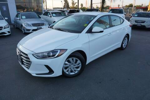 2017 Hyundai Elantra for sale at Industry Motors in Sacramento CA