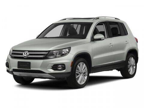 2013 Volkswagen Tiguan for sale at Hawk Ford of St. Charles in St Charles IL