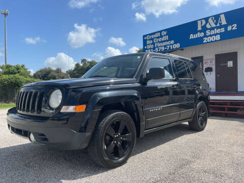 2012 Jeep Patriot for sale at P & A AUTO SALES in Houston TX