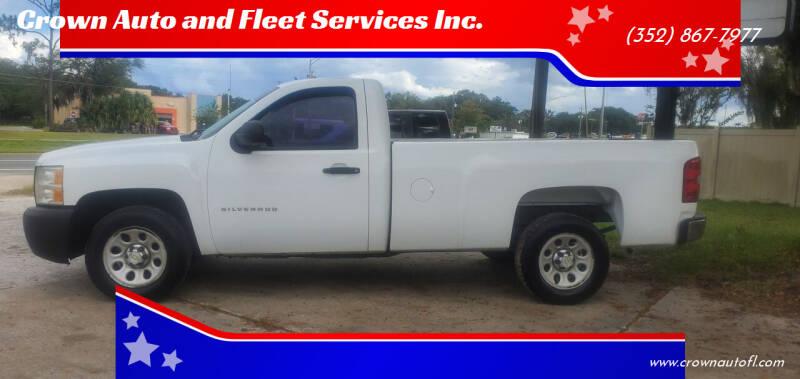2011 Chevrolet Silverado 1500 for sale at Crown Auto and Fleet Services Inc. in Ocala FL