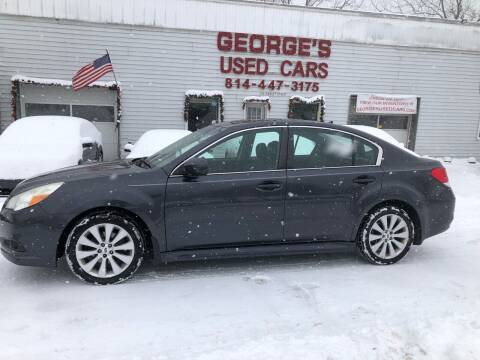 2012 Subaru Legacy for sale at George's Used Cars Inc in Orbisonia PA
