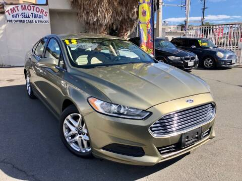 2013 Ford Fusion for sale at TMT Motors in San Diego CA