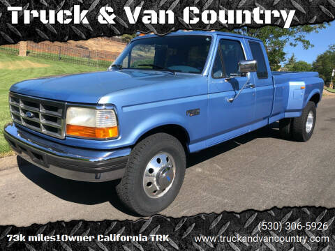 1996 Ford F-350 for sale at Truck & Van Country in Shingle Springs CA