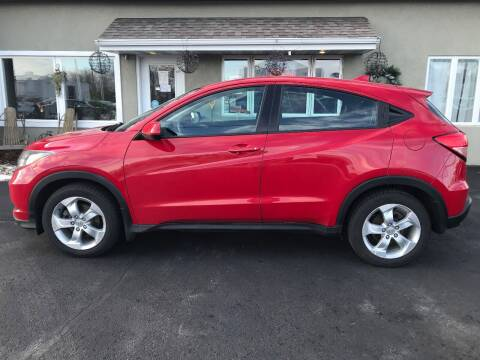 2016 Honda HR-V for sale at DOOR PENINSULA SALES & STORAGE LTD in Sturgeon Bay WI