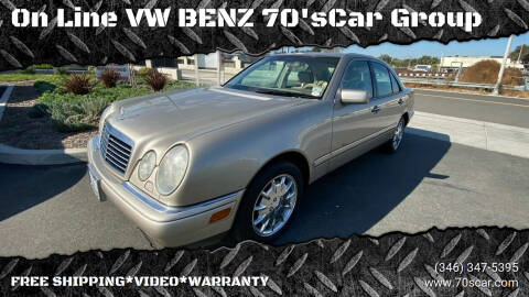 1999 Mercedes-Benz E-Class for sale at On Line VW BENZ 70'sCar Group in Warehouse CA