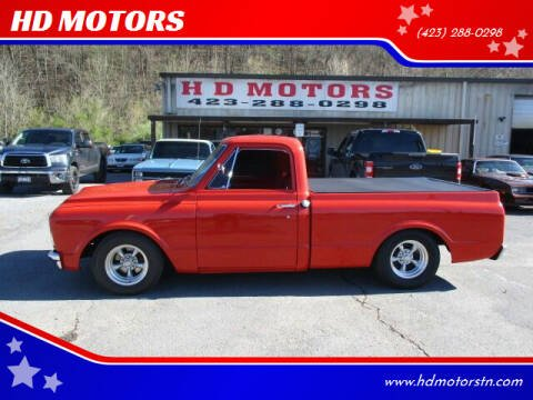 1967 Chevrolet C/K 10 Series for sale at HD MOTORS in Kingsport TN
