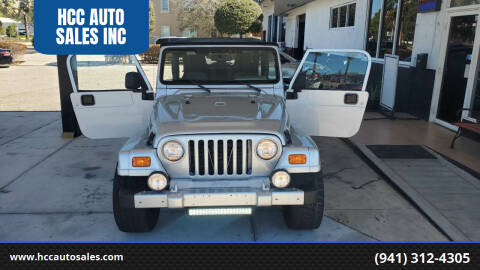 2006 Jeep Wrangler for sale at HCC AUTO SALES INC in Sarasota FL