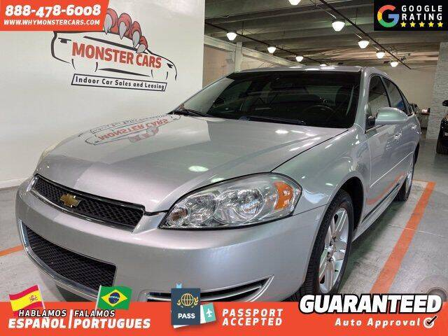 2015 Chevrolet Impala Limited for sale at Monster Cars in Pompano Beach FL