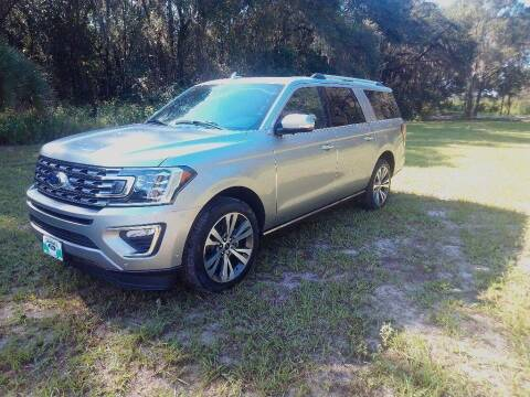 2021 Ford Expedition MAX for sale at TIMBERLAND FORD in Perry FL