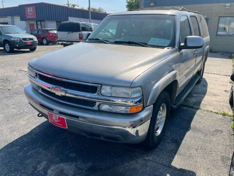2001 Chevrolet Suburban for sale at G T Motorsports in Racine WI