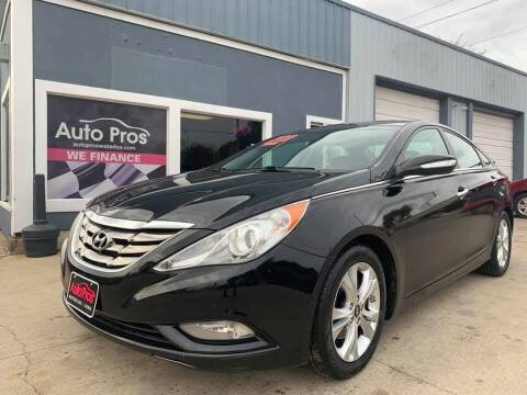 2011 Hyundai Sonata for sale at AutoPros - Waterloo in Waterloo IA