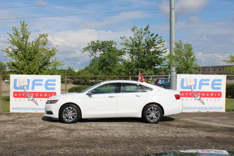 2017 Chevrolet Impala for sale at LIFE AFFORDABLE AUTO SALES in Columbus OH