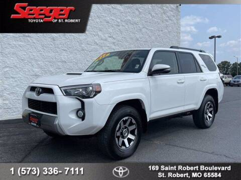 2019 Toyota 4Runner for sale at SEEGER TOYOTA OF ST ROBERT in Saint Robert MO