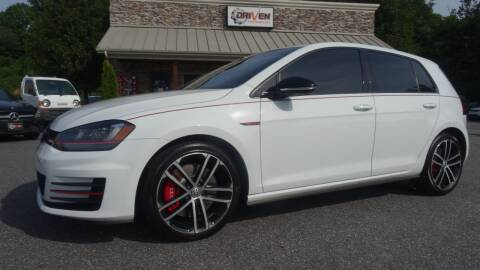 2017 Volkswagen Golf GTI for sale at Driven Pre-Owned in Lenoir NC