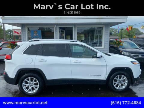 2017 Jeep Cherokee for sale at Marv`s Car Lot Inc. in Zeeland MI