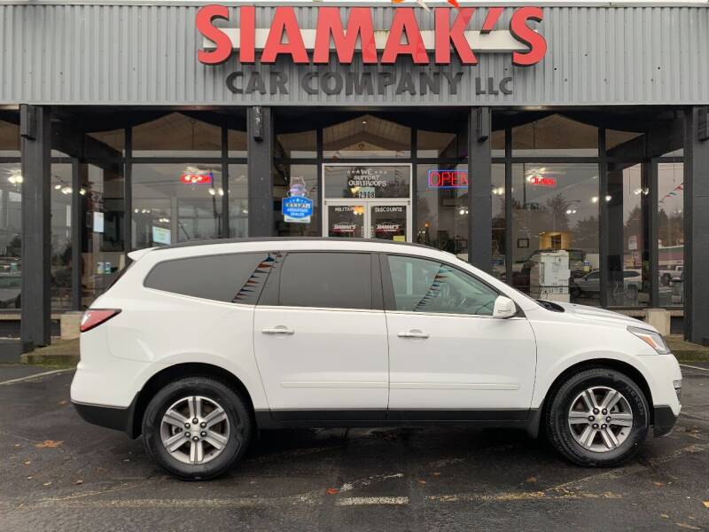 2016 Chevrolet Traverse for sale at Siamak's Car Company llc in Salem OR