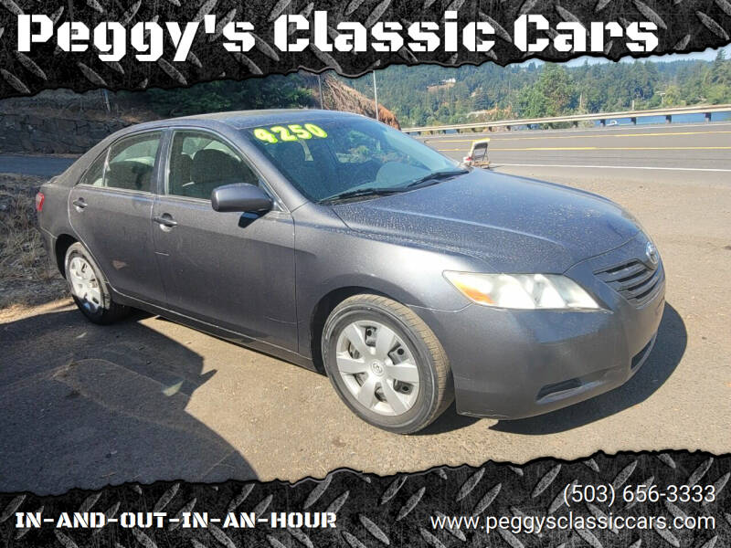 2008 Toyota Camry for sale at Peggy's Classic Cars in Oregon City OR