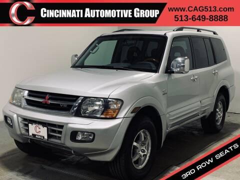 2001 Mitsubishi Montero for sale at Cincinnati Automotive Group in Lebanon OH