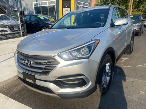 2017 Hyundai Santa Fe Sport for sale at DEALS ON WHEELS in Newark NJ